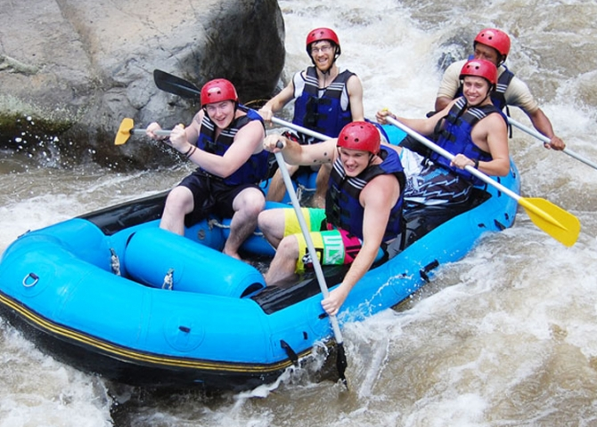 Kintamani  and  River Rafting